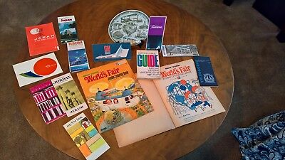 15 piece lot 1964-1965 New York World's Fair Some rarely seen items