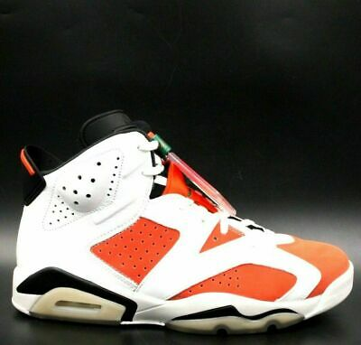 6f56fbc3a1187d AIR JORDAN 6 Retro Gatorade Like Mike Men Size 11 White Orange 384664-145
