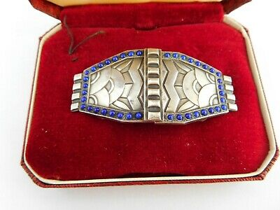 Superb Cased Antique Arts & Crafts Buckle