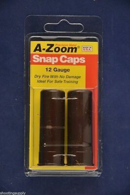 A-Zoom Snap Caps for 12 Gauge Shot Gun azoom New in Package #12211