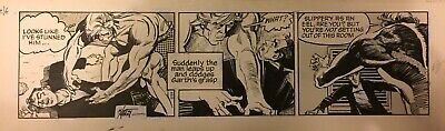 ORIGINAL GARTH NEWSPAPER COMIC STRIP ART - Martin Asbury - Chiller Connection