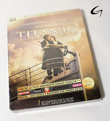Titanic Blu-Ray Steelbook BRAND NEW SEALED