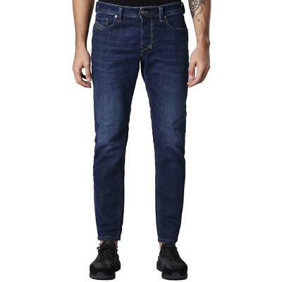 e504a03b Diesel Larkee-Beex 084NR Blue Tapered Jeans Denim Washed Medium treated