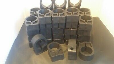 100qty SWA CABLE CLIPS ARMOURED CABLE CLEATS CC6 SIZE 13-15mm