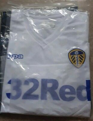 Leeds United 2018/19 Home Shirt BNWT Size Large
