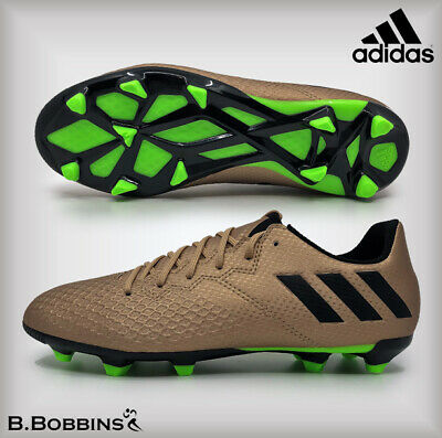low cost 1df21 e212f Adidas MESSI 16.3 FG Copper Football Boots Boys Girls Size UK 12 13 2 3 4