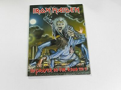 Iron Maiden No Prayer On The Road 1990/91 Tour Concert Program
