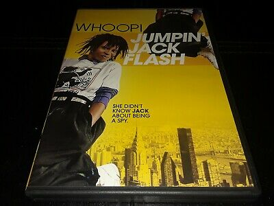 Jumpin Jack Flash (DVD, 2013) Whoopi Goldberg TESTED FREE SHIPPING