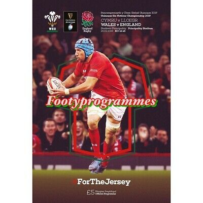 Last One Wales V England Rugby Union 6 Nations  2019