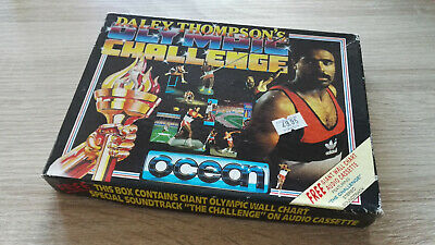"Daley Thompson's Olympic Challenge - disk 3"" Amstrad cpc 6128"
