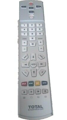 BNWOT REDUCED Total Control UNIVERSAL TV/DVD/SAT/VCR REMOTE CONTROL URC-2840R00