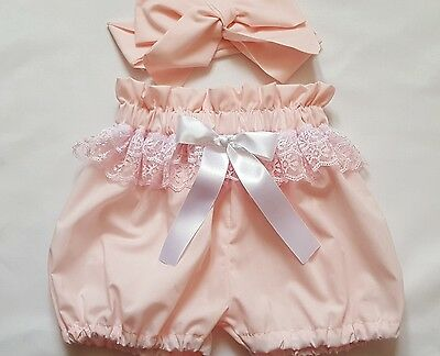 Beautiful Summer  Baby's Bloomer and headwrap set girls clothes New