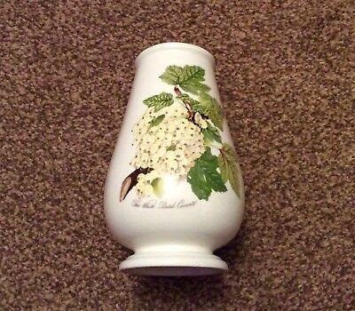 PORTMEIRION Pomona Inverted Canton Vase - Dutch White Currant