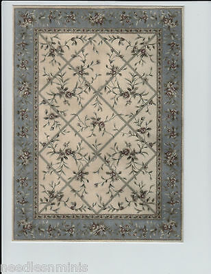 """1:12 Scale Dollhouse Area Rug 0000726 - approximately 7"""" x 9 1/2"""""""