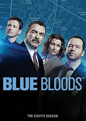 Blue Bloods:The Complete Eighth Season 8 (DVD, 2018, 6-Disc Set) Ships 1st Class