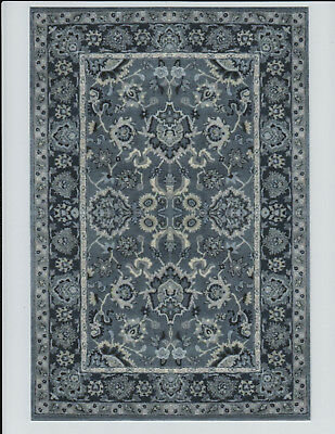 """1:12 Scale Dollhouse Area Rug 0001424 - approximately 7-1/8"""" x 10 1/2"""""""