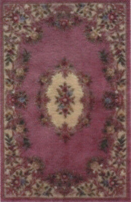 "1:48 Scale Dollhouse Area Rug 0000653 - approximately 1-13/16"" x 2-13/16"""
