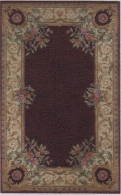 "1:48 Scale Dollhouse Area Rug 0000733 - approximately 1-15/16"" x 3-1/8"""
