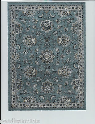"1:12 Scale Dollhouse Area Rug 0000769 - approximately 7"" x 9 1/2"""