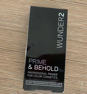 WUNDER2 PRIME & BEHOLD - Professional Primer for Color Cosmetics New