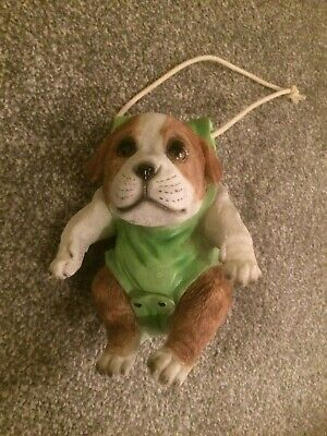 Hanging Puppy Dog Ornament - baby gift idea!