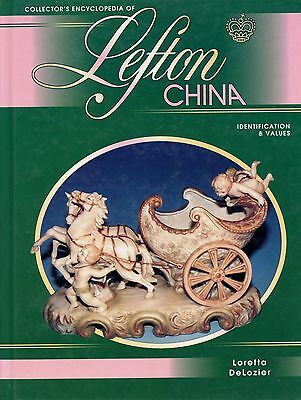 Lefton China Trademarks and Pattern Identification / Illustrated Book + Values