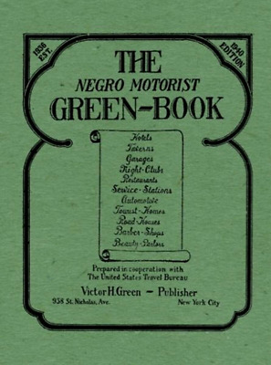 Original The Negro Motorist Green-Book Le Edition Travel Guide Paperback 52 Page