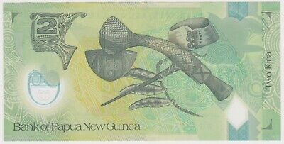 2000s Png 2 Kina Bank Note n25-55 be