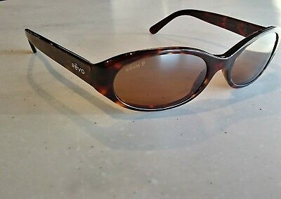 9eb2846a58 Vintage Revo H2O sunglasses 3510 302 J4 Polarized Tortoise Made In Italy
