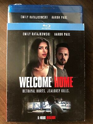 NEW Welcome Home SEALED Blu Ray w Slip Cover Canada Emily Ratajkowski