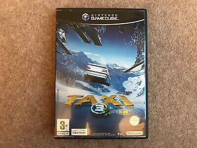 BOX & MANUAL ONLY Taxi 3 Le Jeu Nintendo GameCube Box Only NO GAME
