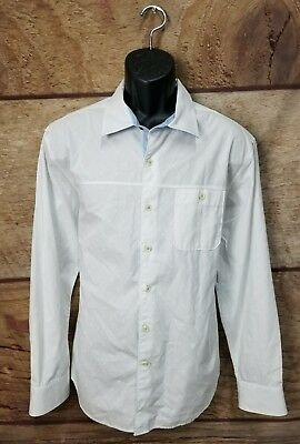 2c74c5dd9 Tommy Bahama Jeans island crafted Shirt Button Up white Men's Size LARGE ...