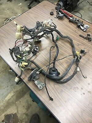 1981 yamaha xs650 xs 650 xs650s special main electrical wiring Xs650 Bobber Wiring 1981 yamaha xs650 xs 650 xs650s special main electrical wiring harness wires