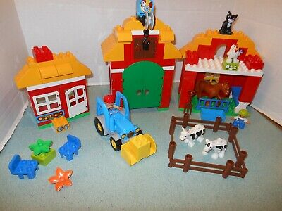 Lego Duplo Big Farm 10525 Yellow Barn Roof Block Pieces Tile Replacement Pieces