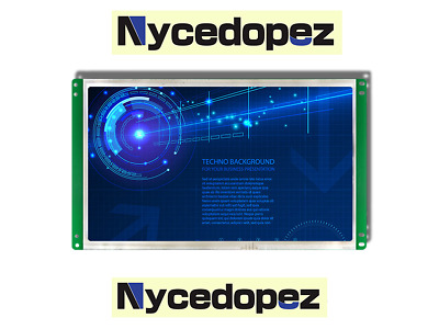 Applicable to 10.1 inch T1001A excellent control touch screen