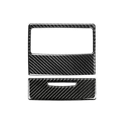 Carbon Fiber Car Rear Air Conditioning Vent Panel Frame for BMW E90 E92 E93 T1E5