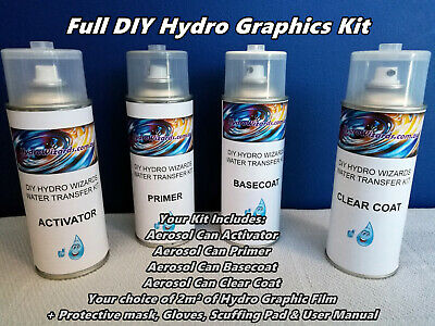 Hydro Graphic KIT Water Transfer Printing Kit Hydrographic Hydro Dipping Print