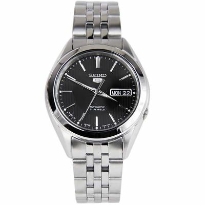 Seiko 5 Automatic Sports Stainless Steel Band Mens Watch SNKL23 SNKL23J SNKL23J1
