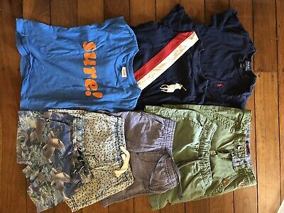 Boys Sz 3 Bundle Shorts And Tshirts