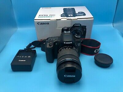 Canon EOS 70D 20.2MP Digital SLR Camera - w/ 18-135mm IS STM f/ 3.5-5.6 lens!!!!