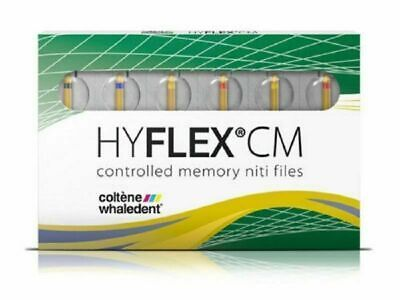 HyFlex CM Controlled Memory Niti file starter pack Coltene 25mm Dental #04