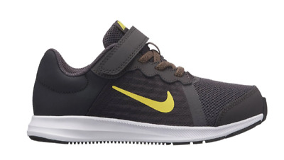 817f37ea6ad4a NIKE DOWNSHIFTER 7 Boys Strap Up Black Shoes Trainers Uk Size 11 - 2 ...