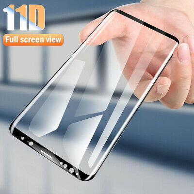 11D Tempered Glass Film Full Screen Protector For Samsung Galaxy J4 Plus A6 2018
