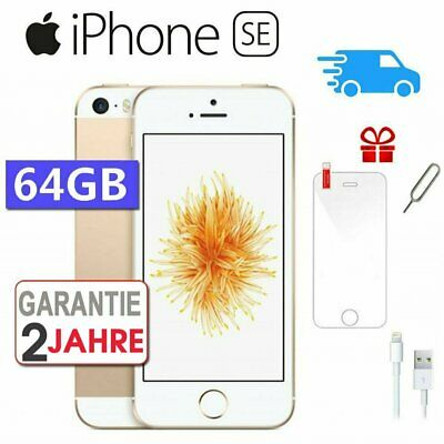 ☀️NEU Apple iPhone SE 64GB Gold Smartphone Handy Ohne Simlock - Aktion !!