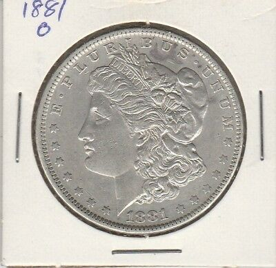1881O    U.s.a. Silver Dollar    Uncirculated