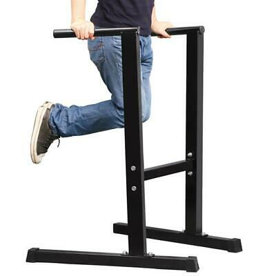 UK Dip Left Exercise Stand Bench Station Home Gym Workout Fitness