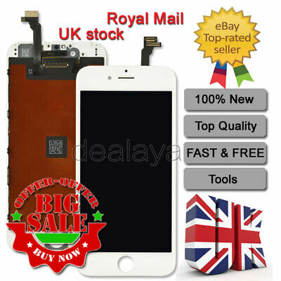 """Screen Replacement for iPhone 6 White 4.7"""" LCD Display Touch Screen Digitizer"""