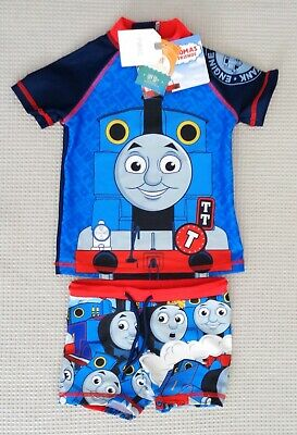 BNWTS NEXT Baby Boys Thomas The Tank Engine UPF50+ Sunsafe Swimsuit 3-6-9months