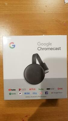 NEW Google Chromecast Latest 3rd Gen Digital HDMI Media Streaming Device 2018