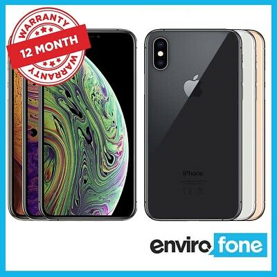 Apple iPhone XS Max 256GB 512GB 64GB Unlocked SIM Free Smartphone